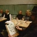 rysowanie karykatur podczas eventu